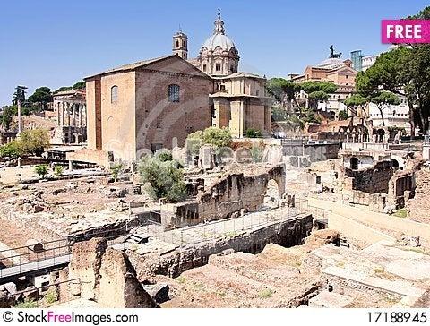 Free Rome, Italy Royalty Free Stock Photo - 17188945