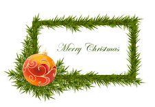 Vector Christmas Ball Royalty Free Stock Photos