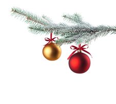 Free Christmas Balls Royalty Free Stock Images - 17180479