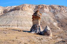 Free Cappadocia. Result Of Erosion Royalty Free Stock Photos - 17180498