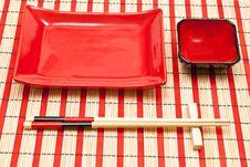 Free Sushi Set Royalty Free Stock Photo - 17180855