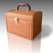 Free Brown Leather Box Stock Photos - 17180983