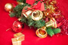 Free Christmas Bells . Royalty Free Stock Photos - 17181078