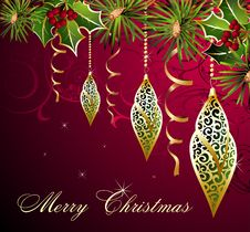 Free Christmas Background Stock Photos - 17181143
