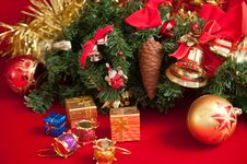 Free Christmas Bells . Stock Image - 17181361