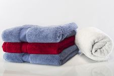 Free Folded Towels Stock Photos - 17181403