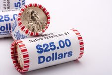 Free Metal Dollars Stock Image - 17181511