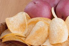 Free Potato Chips Stock Images - 17181534