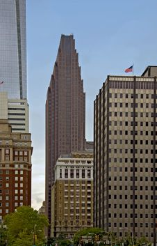 Free Philadelphia Skyscrapers Stock Images - 17181644
