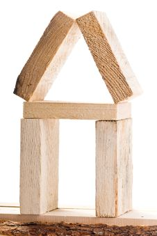 Free Wooden House Stock Image - 17181811