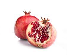Free Juicy Opened Pomegranate Royalty Free Stock Image - 17181886