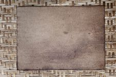 Free Old Paper As Bamboo Wood Stock Photo - 17182020