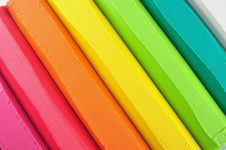 Free Colorful Crayon Stick Stock Images - 17182054