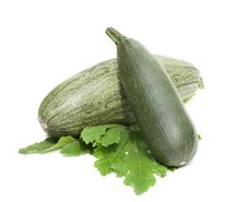 Green Vegetable Marrow Stock Photos