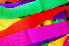 Free Colorful Spectrum Mulberry Paper Background Royalty Free Stock Image - 17184986