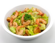 Free Prawn Salad Stock Images - 17185154