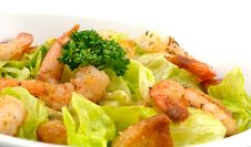 Free Prawn Salad Royalty Free Stock Images - 17185169
