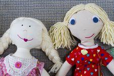 Free Rag Dolls Stock Photography - 17185342