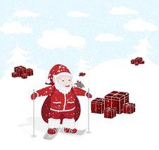 Free Santa Royalty Free Stock Photos - 17186068