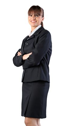 Free Business Woman Smiling Royalty Free Stock Image - 17186576