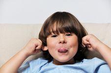 Free Little Male Portrait Stock Images - 17186914