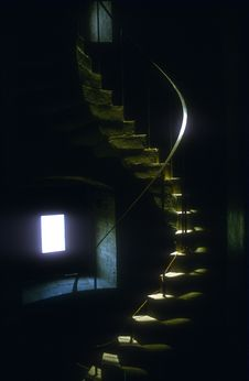 Free Spiral Staircase Royalty Free Stock Image - 17186916