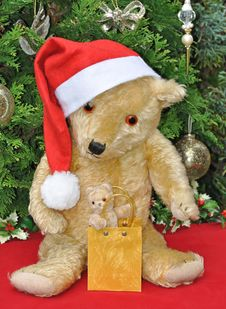 Free Christmas Bears Stock Images - 17187194