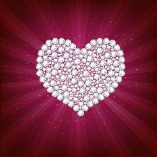 Heart. Vector Royalty Free Stock Photography