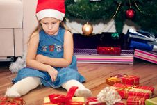 Free Girl Waits Gifts Stock Photo - 17188180
