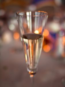 Free Champagne Glass With Abstract Background Royalty Free Stock Image - 17188316