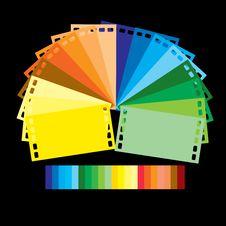 Free Rainbow Colour Film Royalty Free Stock Photos - 17189088