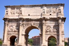Free Arco De Constantino In Rome, Italy Stock Photos - 17189093
