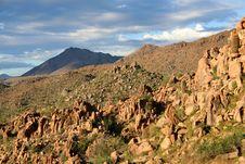 Free Desert Mountain Royalty Free Stock Photos - 17189508