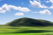 Mongolian Grassland Royalty Free Stock Image
