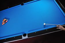 Free Young Man Play Pro Billiard Game Stock Photography - 17189962