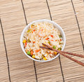 Free Fried Rice With Vegetables And Prawn Royalty Free Stock Photos - 17191238
