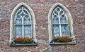Free Beautiful Portal Windows And Red Bricks Royalty Free Stock Photos - 17196288