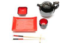 Free Empty Sushi Set Royalty Free Stock Image - 17191026