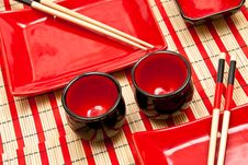 Free Empty Sushi Set Stock Image - 17191031