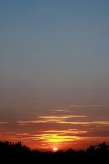 Free Sunset Faraway And Romantic Feeling Stock Photos - 17191053