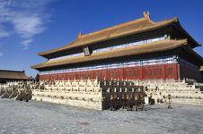 Free Beijing Forbidden City Palace Royalty Free Stock Photos - 17191218
