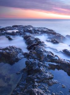 Free Sea Mist Royalty Free Stock Photo - 17191525