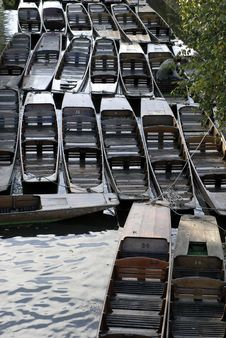 Free Oxford River Boats Stock Photography - 17191602