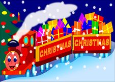 Free Christmas Train Royalty Free Stock Images - 17191749