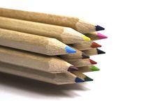 Free Twelve Colored Pencil Stock Photos - 17192353