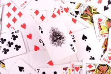 Free Ace Of Spades Royalty Free Stock Image - 17192636