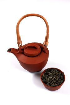 Free Clay Brown Teapot Royalty Free Stock Images - 17192819