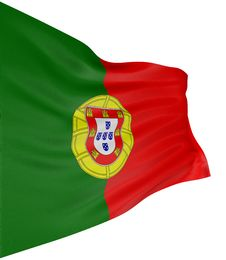 Free 3D Portuguese Flag Stock Images - 17193354