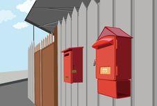 Free Mailbox Stock Photo - 17193860