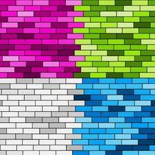 Free Colorful Wall Stock Image - 17194051